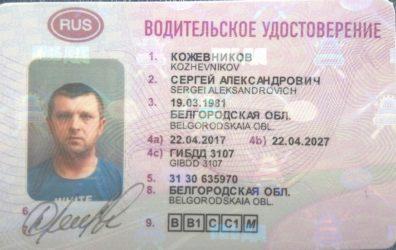 Регламентируется ли цвет подписи в водительском удостоверении?