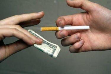 Штраф за продажу сигарет без лицензии