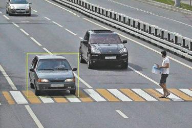 Штраф за непропуск пешехода вне зебры