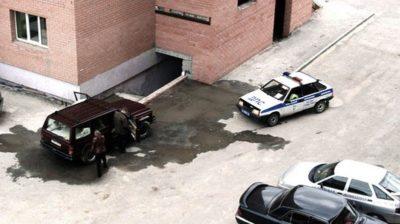 Штраф за мойку автомобиля во дворе